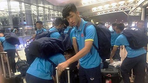 Tuyển U20 Việt Nam tới Đức sau 16 tiếng 'hành quân'