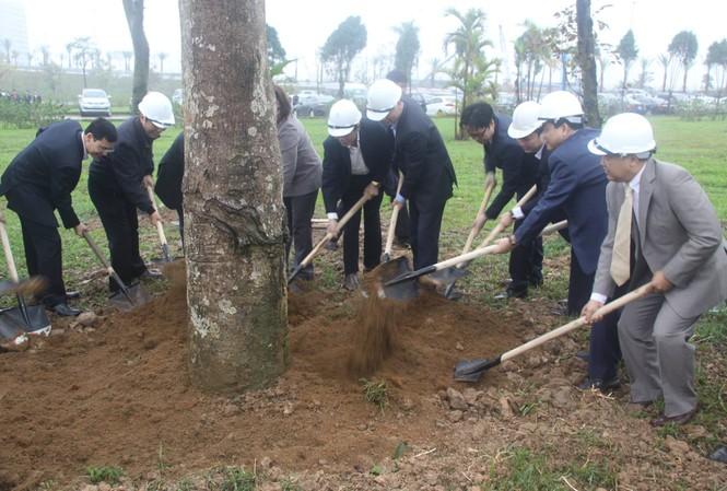 Hà Nội phát động ra quân trồng cây xanh