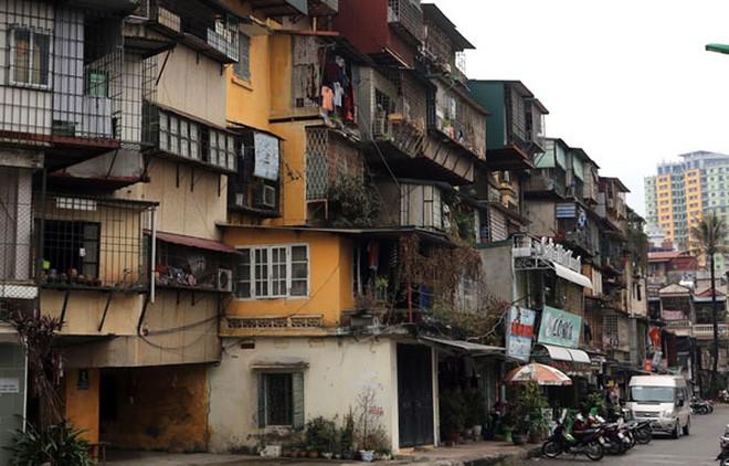 Hà Nội lập Ban chỉ đạo xây dựng lại nhà chung cư cũ