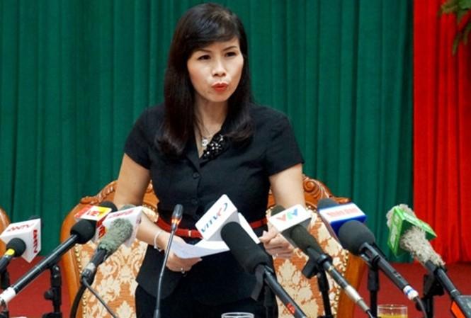 Theo Bí thư Quận ủy Thanh Xuân, bà phó Chủ tịch quận đã có văn bản giải trình