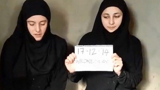 Hai người phụ nữ Italy xuất hiện trong đoạn video