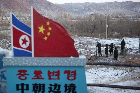 Biên giới Triều Tiên - Trung Quốc.