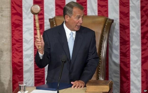 Chủ tịch Hạ viện Mỹ John Boehner.