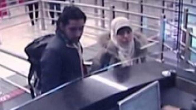 Hình ảnh nữ khủng bố Hayat Boumeddiene từ camera an ninh Thổ Nhĩ Kỳ