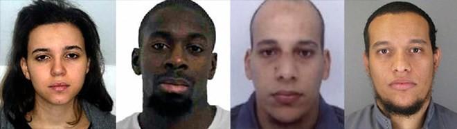 4 kẻ có liên quan trực tiếp đến các vụ tấn công đẫm máu ở Paris