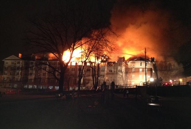 Hiện trường vụ hỏa hoạn