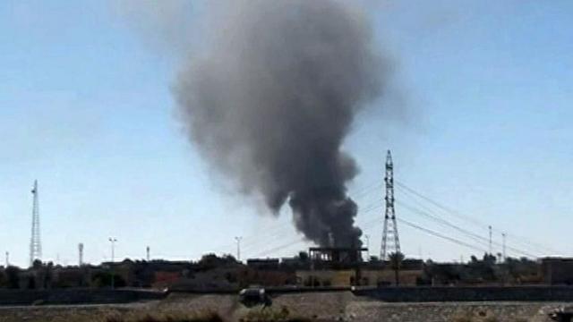 Mỹ không kích IS ở Ramadi, Iraq.