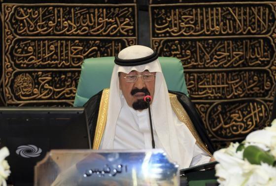 Quốc vương Ả Rập Saudi Abdullah bin Abdulaziz.