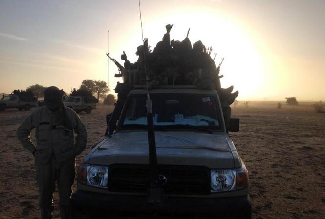 Binh lính Chad ở Cameroon.