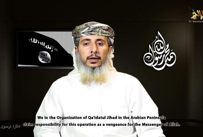 Al-Qaeda tại bán đảo Arập (AQAP) nhận trách nhiệm vụ tấn công tuần báo châm biếm Pháp Charlie Hebdo