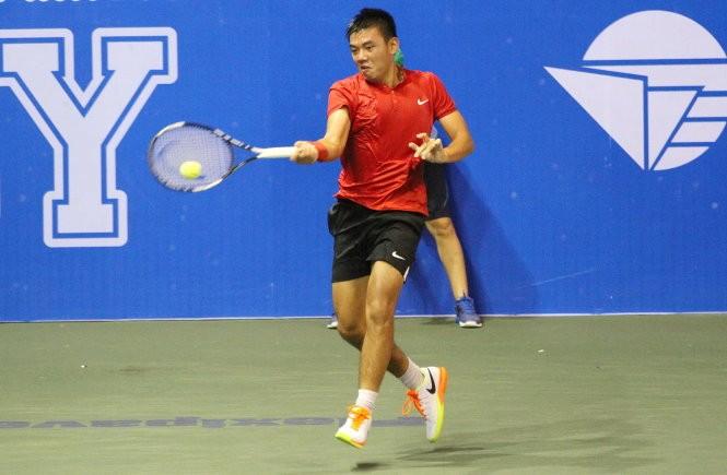 Hoàng Nam đang thi đấu tốt ở giải Vietnam F7 Futures
