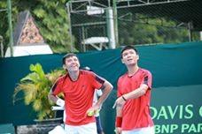 Thiếu vắng các tay vợt chủ lực, quần vợt Việt Nam rớt hạng tại Davis Cup