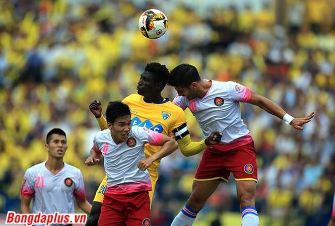 Sài Gòn FC có một trận đấu hay trước Thanh Hoá ở lượt trận 13 V-League 2017.