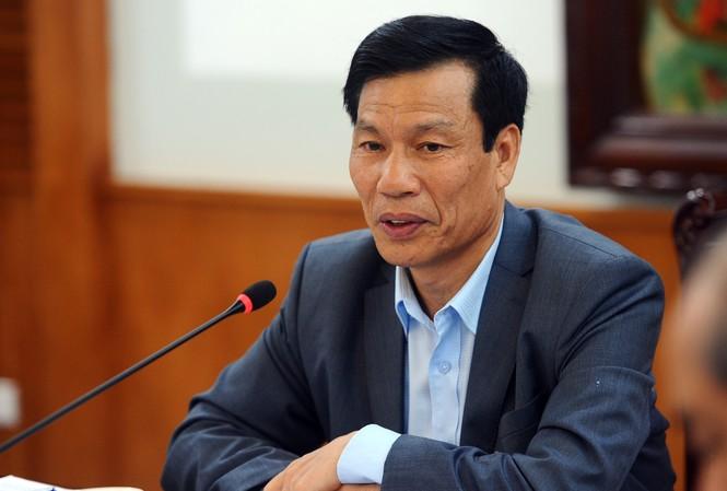 Bộ trưởng Nguyễn Ngọc Thiện phát biểu tại cuộc họp