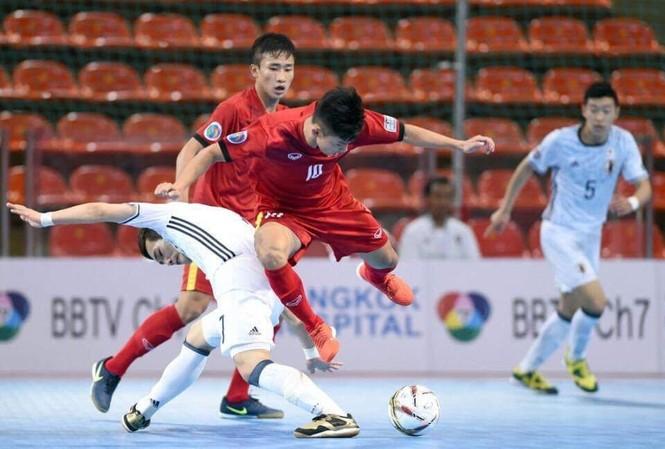 U20 Futsal Việt Nam không thể tạo bất ngờ trước U20 Nhật Bản