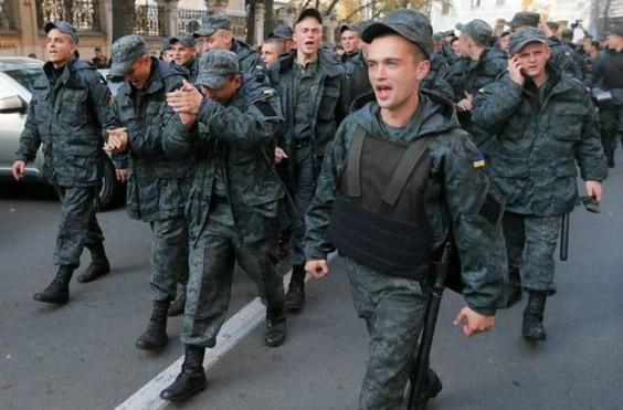 ảnh minh họa về các binh sỹ Ukraine