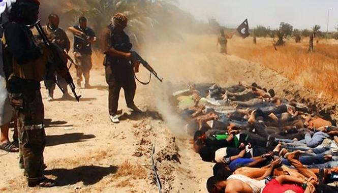 IS tàn sát hàng chục người tại tỉnh Salahuddin. Ảnh: Press TV