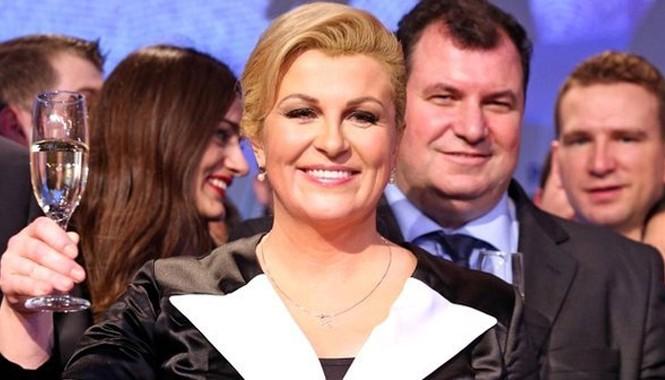 Bà Kolinda Grabar-Kitarovic. Ảnh: BBC.