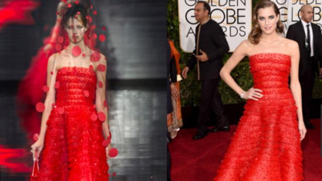 """Thời trang sàn catwalk """"lên ngôi' thảm đỏ Quả Cầu Vàng 2015"""
