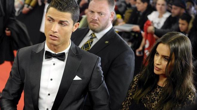 Ronaldo và Irina đã chia tay nhau