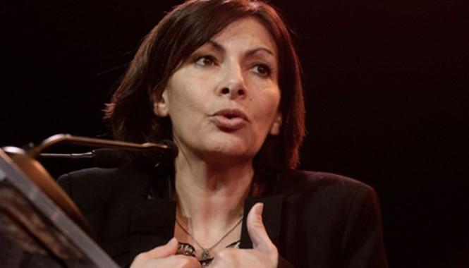 Bà Anne Hidalgo -Thị trưởng thành phố Paris. Ảnh: Guardian