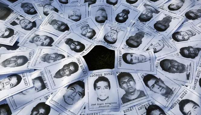 Hình ảnh các sinh viên bị mất tích. Ảnh: Skynews