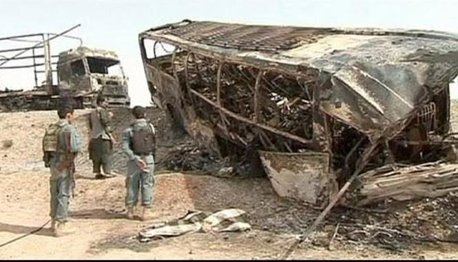 Một vụ tai nạn xe buýt tại Afghanistan