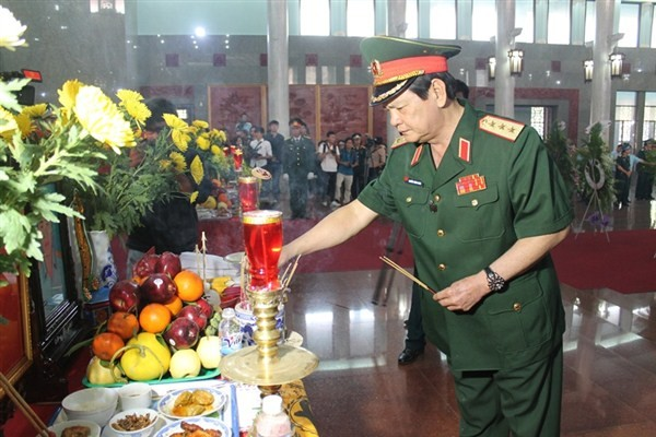 Chủ tịch nước chia buồn với gia đình 4 quân nhân hy sinh