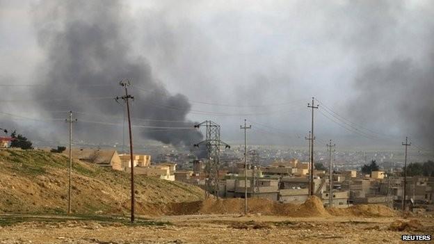 Liên quân tiến hành các cuộc không kích tại Iraq. Ảnh: BBC