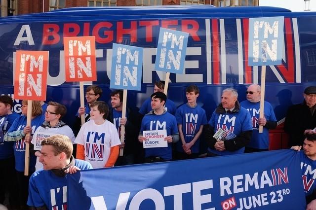 Về lâu dài, nhiều người lo ngại, vị thế của Anh trong vai trò trung tâm tài chính lớn nhất thế giới sẽ bị đe dọa nếu dời EU. Ảnh minh họa