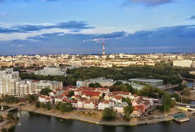 Thủ đô Minsk của Belarus