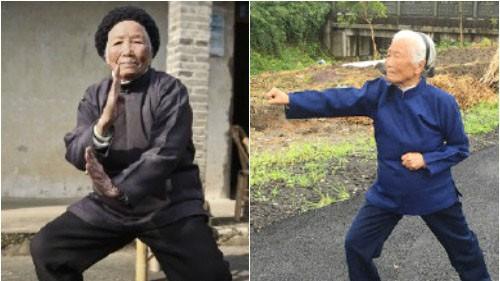 Xuất thân từ một danh gia võ thuật, cụ bà Trương Hà Tiên bắt đầu học võ từ khi mới 4 tuổi.