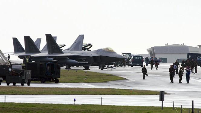 Một căn cứ quân sự Mỹ ở Okinawa