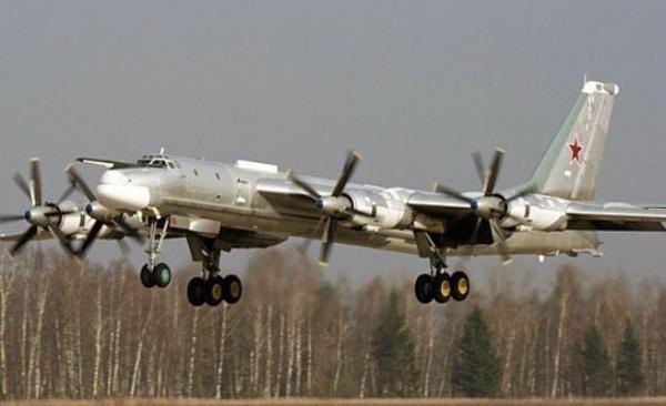 Một chiếc Tu-95 của Nga. Ảnh: Tass
