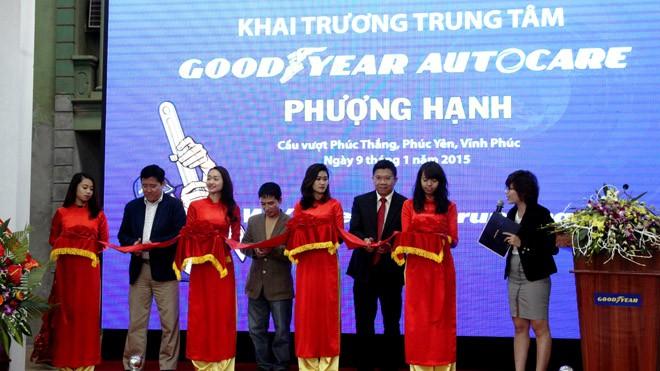 Goodyear mở rộng mô hình bảo dưỡng lốp xe hiện đại đến miền bắc