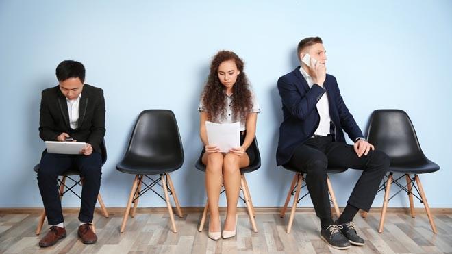 Những cuộc phỏng vấn căng thẳng, với nhiều đối thủ đáng gờm luôn là nỗi lo của các ứng viên trong quá trình ứng tuyển