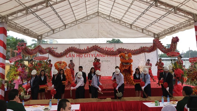 Lễ khởi công dự án Căn hộ Park Hills tại địa chỉ số 18 Phan Văn Trị, Phường 10, Quận Gò Vấp