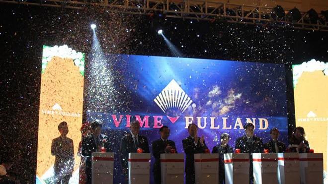 Lễ nhấn nút ra mắt thương hiệu bất động sản Vimefulland