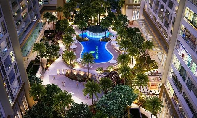 """Imperia Garden là một trong những dự án có tiến độ xây dựng """"chuẩn"""" nhất  thị trường BĐS Hà Nội"""