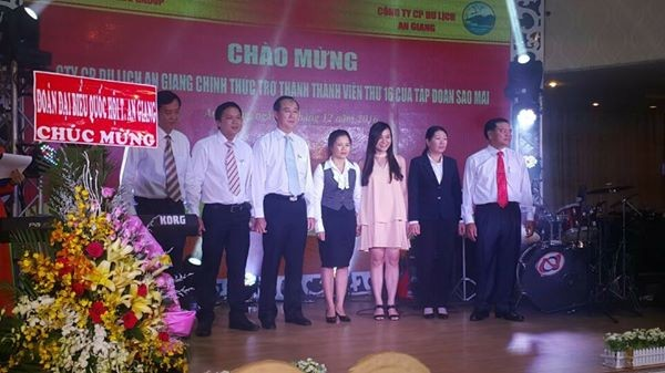 Công ty CP Du Lịch An Giang ra mắt Hội Đồng Quản Trị mới ngày 12/12/2016
