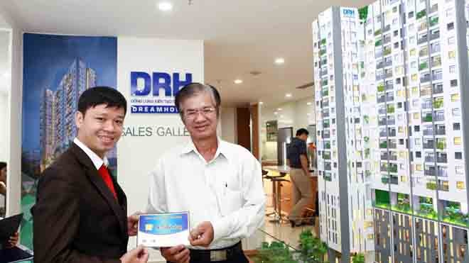 Đặt chỗ mua căn hộ D-Vela, trúng thưởng 2 tỷ đồng