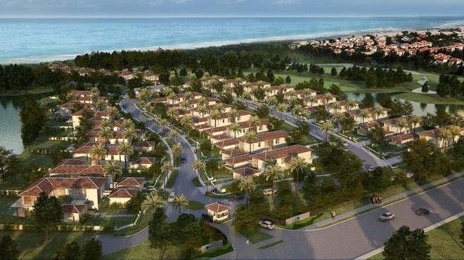 Phối cảnh khu biệt thự The Ocean Estates