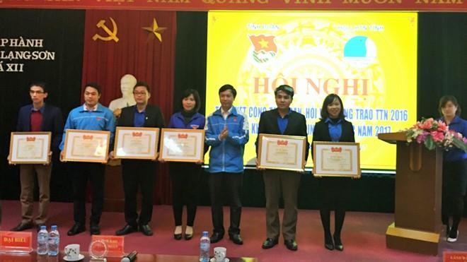 Tỉnh đoàn Lạng Sơn tổ chức Hội nghị tổng kết công tác Đoàn