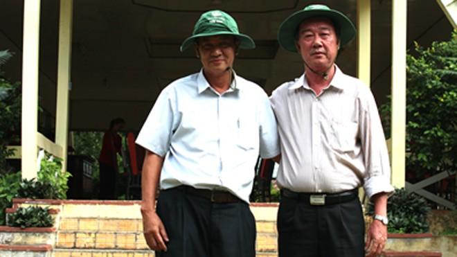 ông Nguyễn Tấn Sơn – Tổng GĐ CT CP DL AG (trái) và Ông Phạm Thế Triều – Phó GĐ Sở Văn hóa Thể thao và DL tỉnh AG (phải) – hai nhà kiến tạo du lịch AG