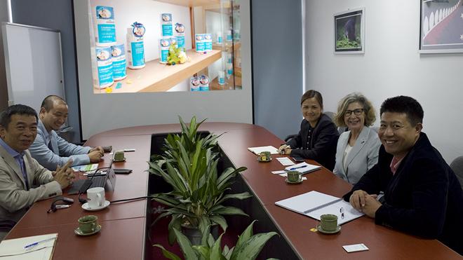 Tổng lãnh sự New Zealand thăm và làm việc tại Công ty Cổ phần Goodhealth Việt Nam