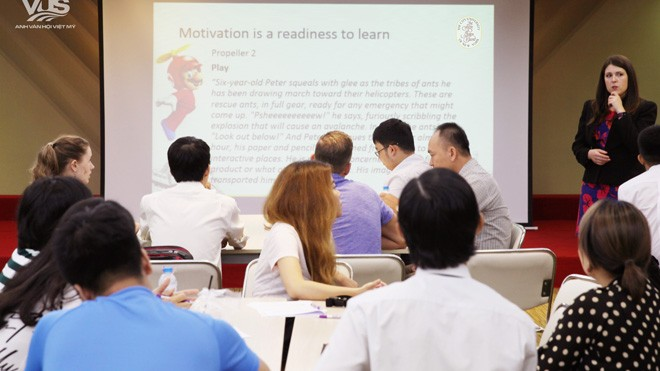 Vus và Cuny tổ chức hội thảo chuyên môn cho giáo viên
