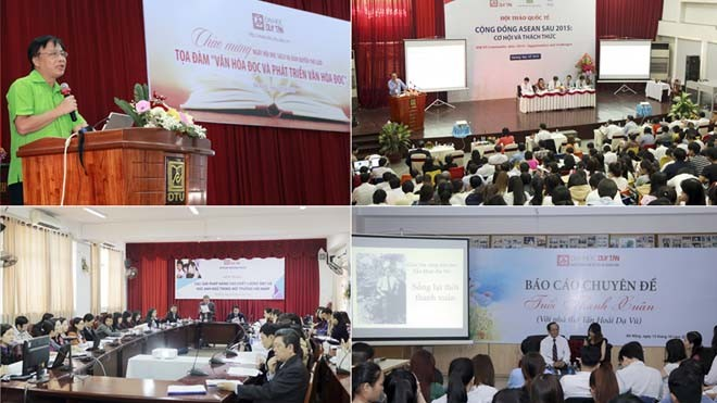 Khối ngành Khoa học Xã hội & Nhân văn và Ngoại ngữ luôn tổ chức nhiều Hội thảo trong nước và quốc tế tại ĐH Duy Tân
