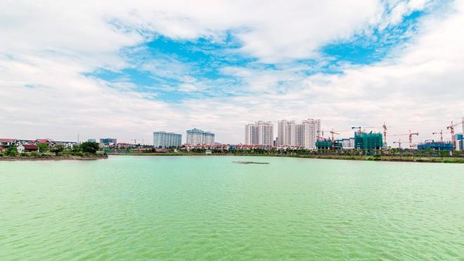 An Bình City sở hữu hồ điều hòa lớn nhất nội đô 15ha