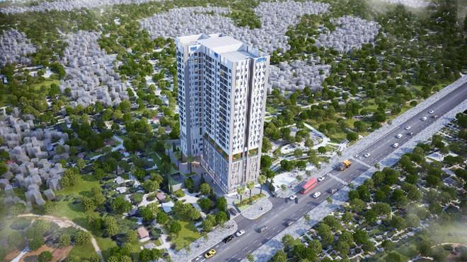 Phối cảnh dự án  D-Vela quận 7.