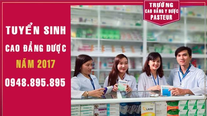 Xét tuyển Cao đẳng Dược, Điều dưỡng, Xét nghiệm Y tế năm 2017